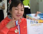 Людмила Рыспаева завоевала путевку на чемпионат России по паратриатлону