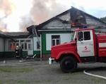 Ученики из сгоревшей школы закончат учебный год в Аносе