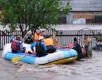 Спасатели предупреждают о возможном подъеме уровня воды в реках