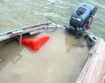 На реке Лебедь пропал рыбак