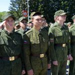 В Горно-Алтайске состоялась торжественная отправка призывников в ракетные войска