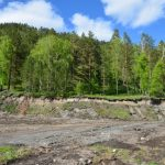 Начались работы по ликвидации свалки у Голубых озер