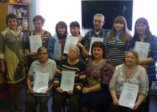 Очередная группа закончила обучение на курсах «Бабушка и дедушка онлайн»