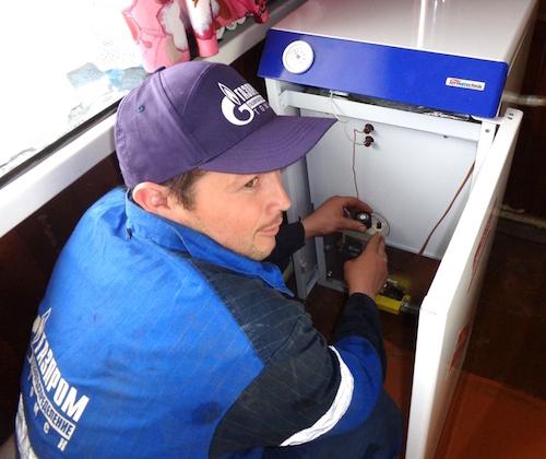 Каждый потребитель газа обязан обеспечить техобслуживание газового оборудования