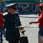 Комсомольцы провели акцию «Анти-НАТО»