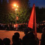 В Горно-Алтайске прошла акция «Свеча памяти»