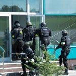 Антитеррористические учения в горно-алтайском аэропорту