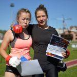Кристина Токоекова и Мария Шутова