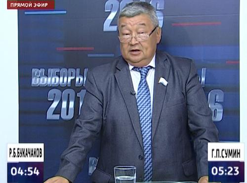 Геннадий Сумин снимает кандидатуру в пользу Букачакова