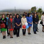 Открытие школы в Ело