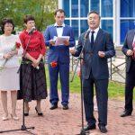 В Горно-Алтайске открыли бюст Льва Гумилева