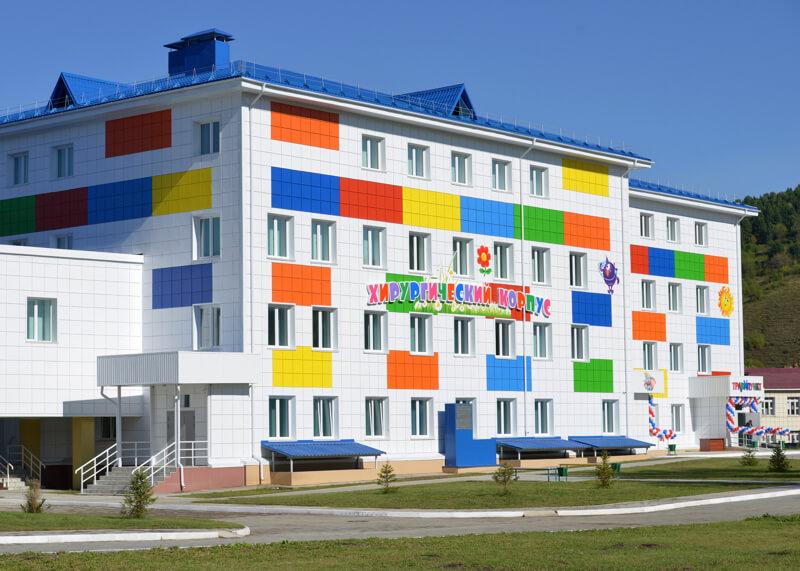 Открыт новый корпус детской больницы