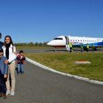 Фотофакт: Казань и Горно-Алтайск связал прямой авиарейс