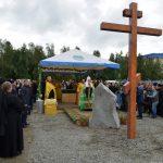 Освящение закладного камня на месте строительства кафедрального собора