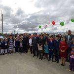 Открытие школы в Теленгит-Сjртогое