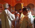 В Яйлю освятили православный храм