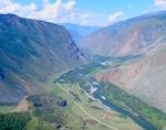 Видео: Чулышманская долина, водопад Учар и Кату-Ярык с высоты птичьего полета