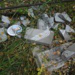 Погром на кладбище в Чендеке