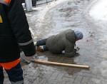 В Республике Алтай 25 человек получили травмы из-за снегопадов и гололеда