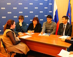 Молодогвардейцы провели прием студентов по личным вопросам