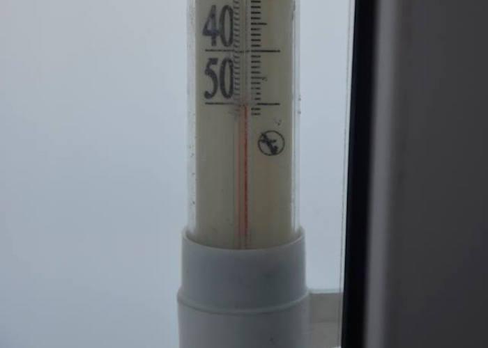 Фотофакт: В Улагане -50°С