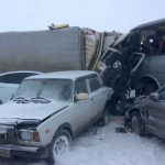 Автобус из Горно-Алтайска попал в серьезное ДТП около Бийска
