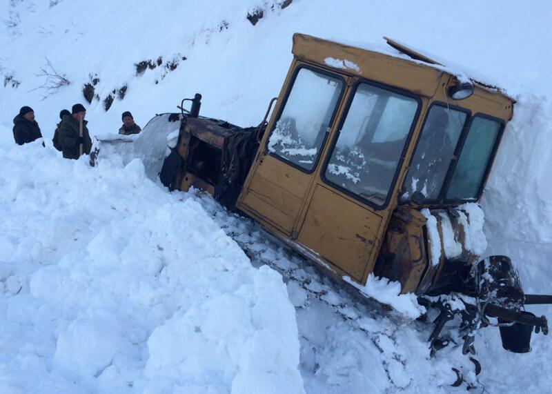 Кату-Ярык в снежном плену