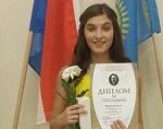Арина Веревкина получила диплом «Вокальная надежда-2016»