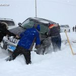 Китайский Алтай тоже завалило снегом