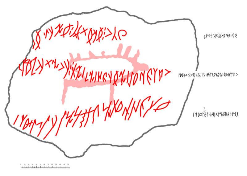 НаАлтае обнаружили самую длинную руническую надпись