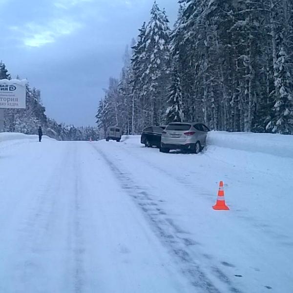 Автотуристка из Новосибирска устроила ДТП в Турочакском районе