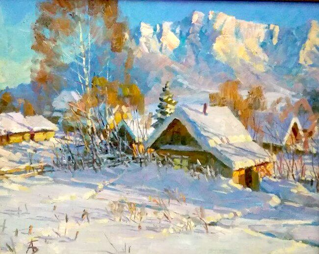 «Снежные напевы» Александра Бушуева