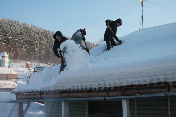 Щетка от снега очистки крыши от снега