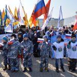 «Крымскую весну» встретили в Горно-Алтайске (фото)