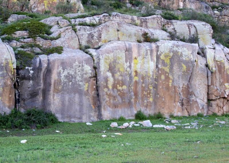 Уточнение: петроглифы у Яломана были открыты в 2009 году