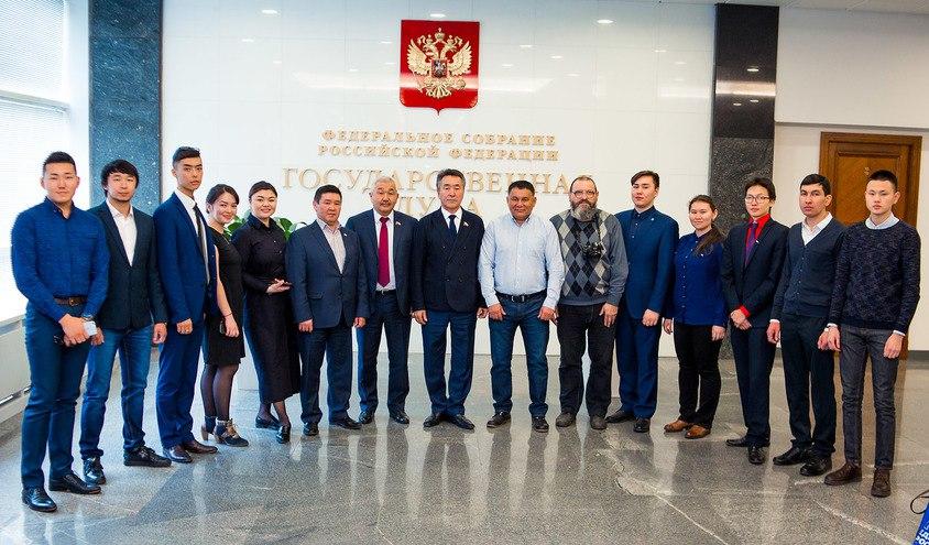 Депутаты Госдумы встретились с представителями алтайского землячества в Москве