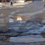 Общественность и ГИБДД провели рейд по «убитым» дорогам Горно-Алтайска (фото)