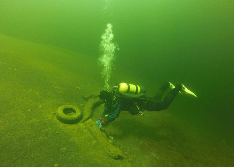 Дайверы обследовали дно Телецкого озера