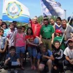 Трезвая пробежка в Майме: богатырские игры, купание в фонтане и борьба с пьянством