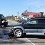 В Майме джип врезался в трактор (фото)