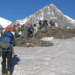 Спасателей обеспокоил «Бессмертный полк» в горах Алтая