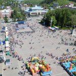 День защиты детей отпраздновали в Горно-Алтайске (фото)