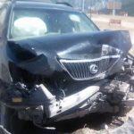 Женщина на «Лексусе» попала в аварию в Акташе