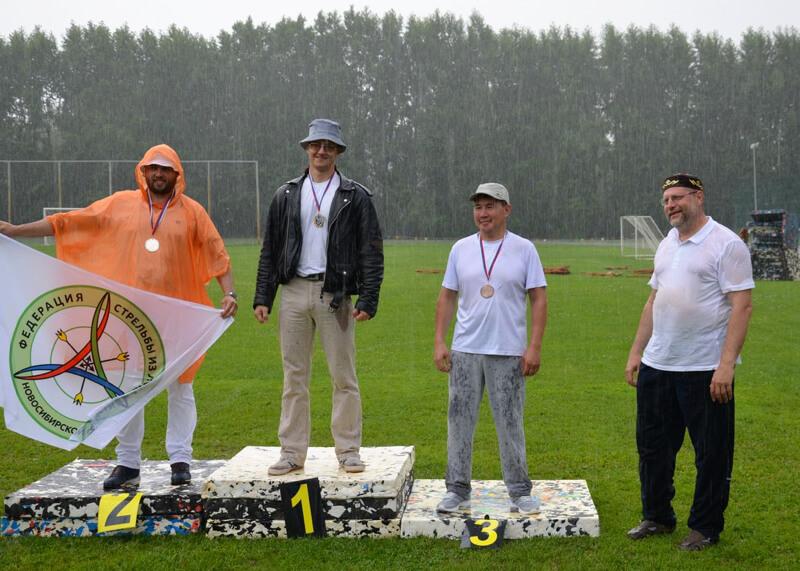 Спортсмены с Алтая приняли участие в первенстве по стрельбе из лука в Томской области