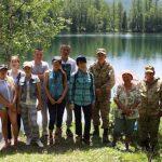 В Онгудайском районе прошла акция по очистке озера Ару Кем