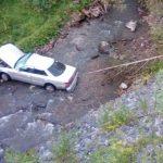 Пьяные водители без прав устроили две автоаварии