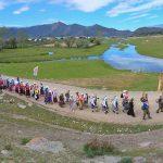 Более 150 человек приняли участие в крестном ходе «По стопам миссионеров алтайских»