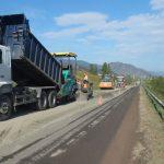 Начался ремонт Чуйского тракта около Онгудая