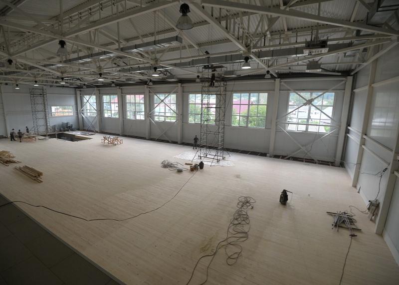 Центр спортивной акробатики в Горно-Алтайске откроют к октябрю