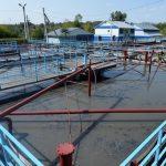 На очистных сооружениях построен цех механического обезвоживания осадков